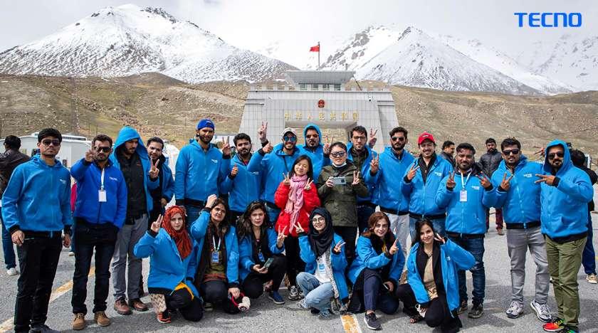 TECNO astounds everyone with the successful Photowalk to Khunjerab Pass