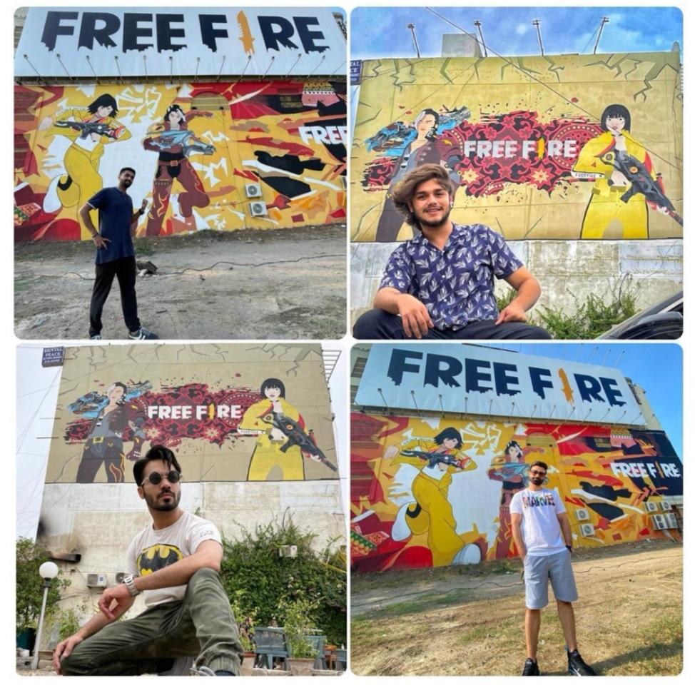 Garena Free Fire Unveils Two Murals in Pakistan