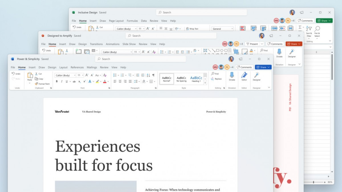 Microsoft Office Gets a New Design for Windows 11