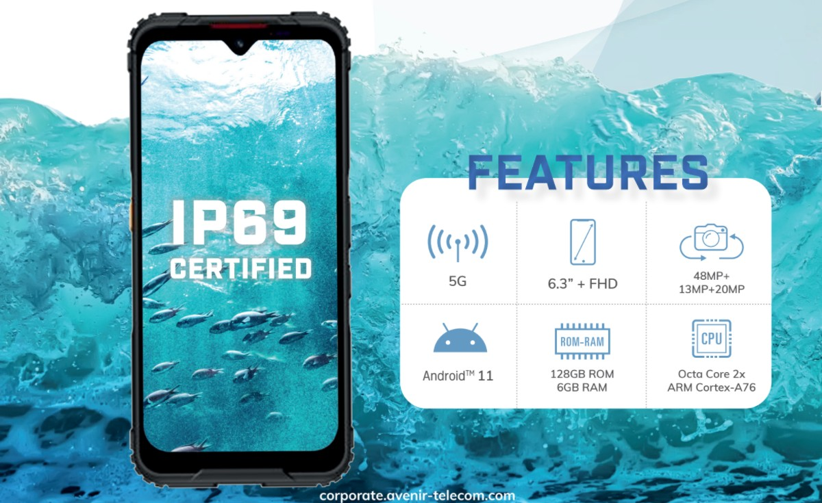 Energizer Launches its First Rugged 5G Phone