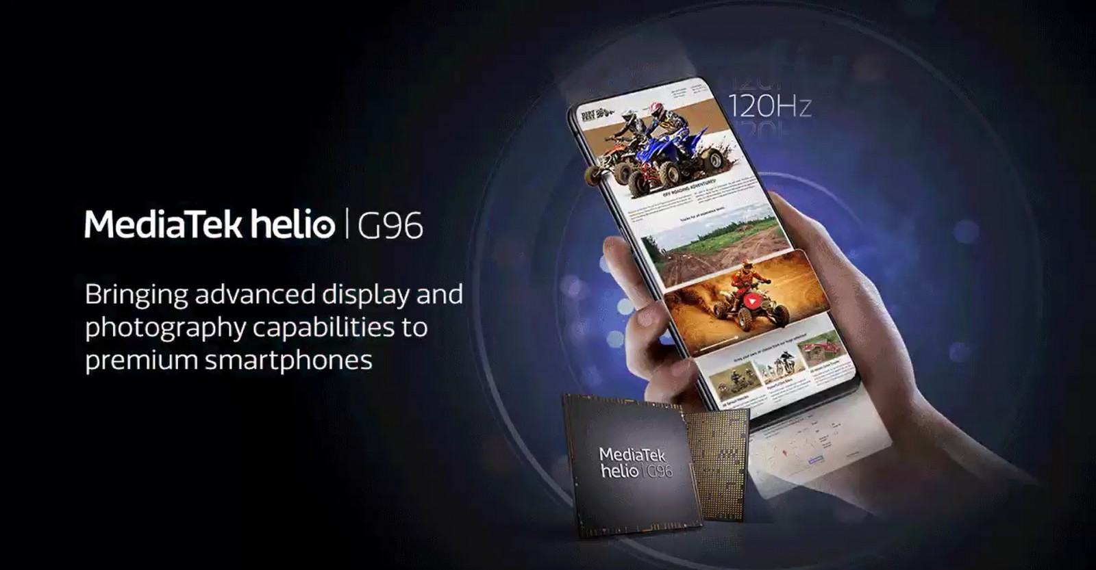 Helio G96 Chip Launched With Support for 120Hz Displays, 108MP Cameras, 4K Video Recording