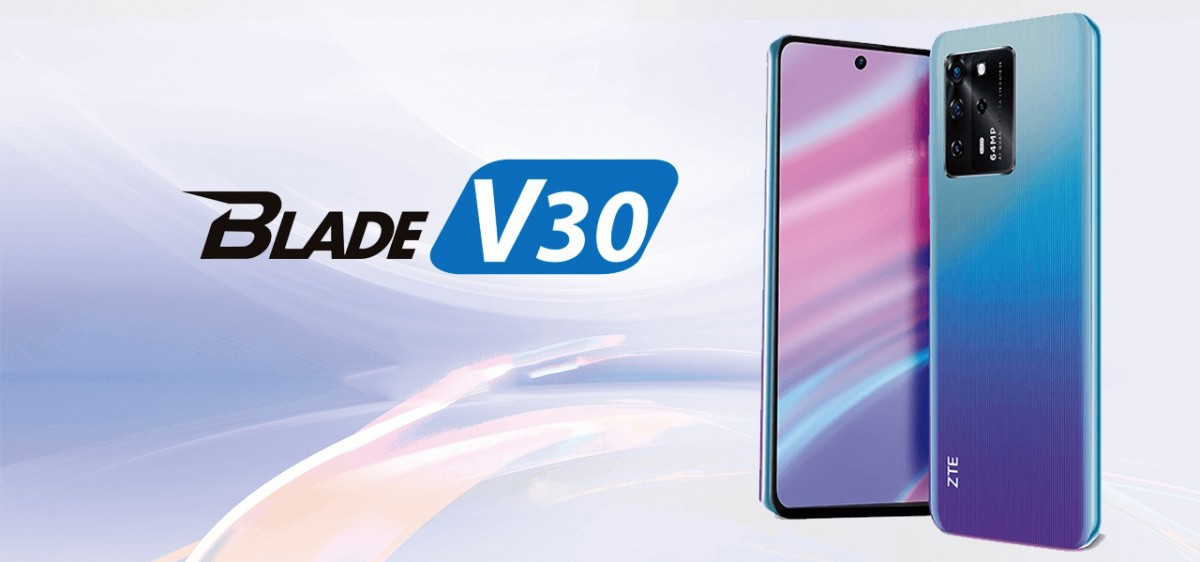 ZTE Blade V30 Launched With 64MP Camera and 5000 mAh Battery