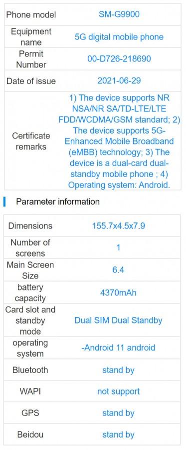 Samsung Galaxy S21 FE Key Specs Leaked Ahead of Launch
