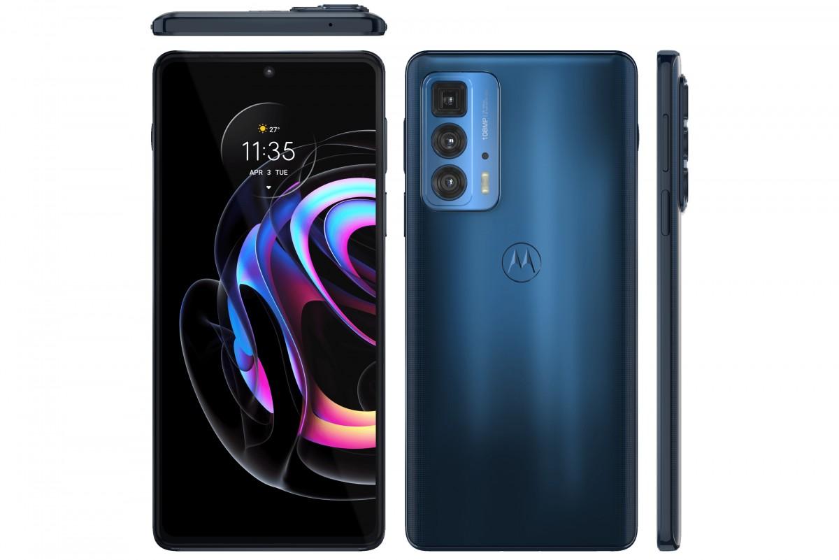 Motorola Edge 20 Pro Appears in Official Looking Renders