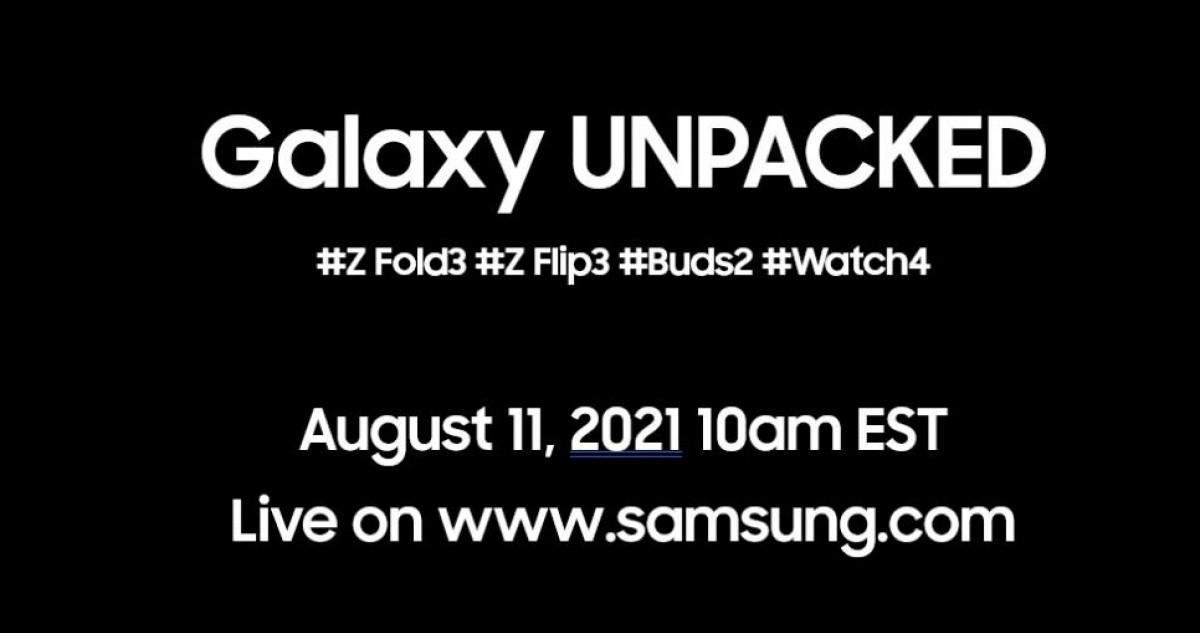 Samsung Galaxy Unpacked Event Scheduled for August 11