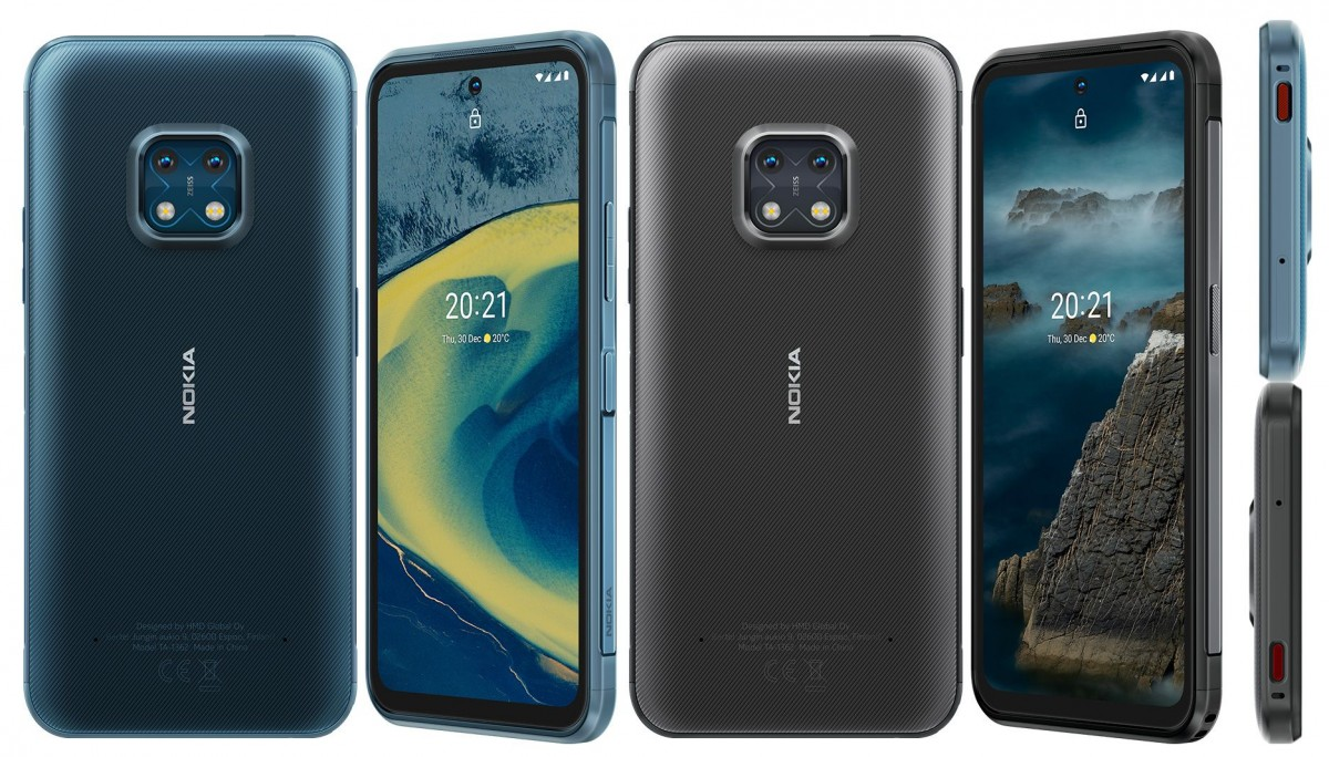Nokia XR20 is a Rugged Phone With 5G and Waterproofing