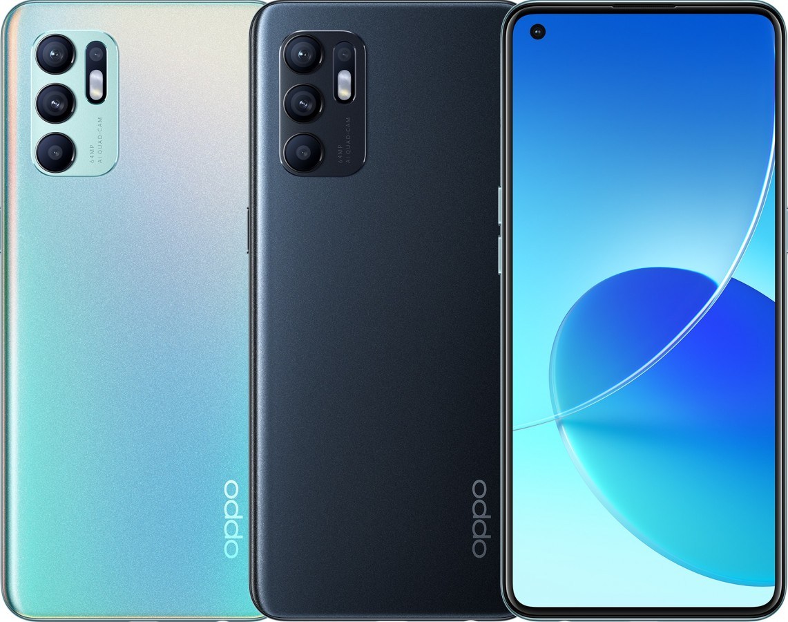 Oppo Reno 6 4G Announced With More Cameras and 90Hz Display