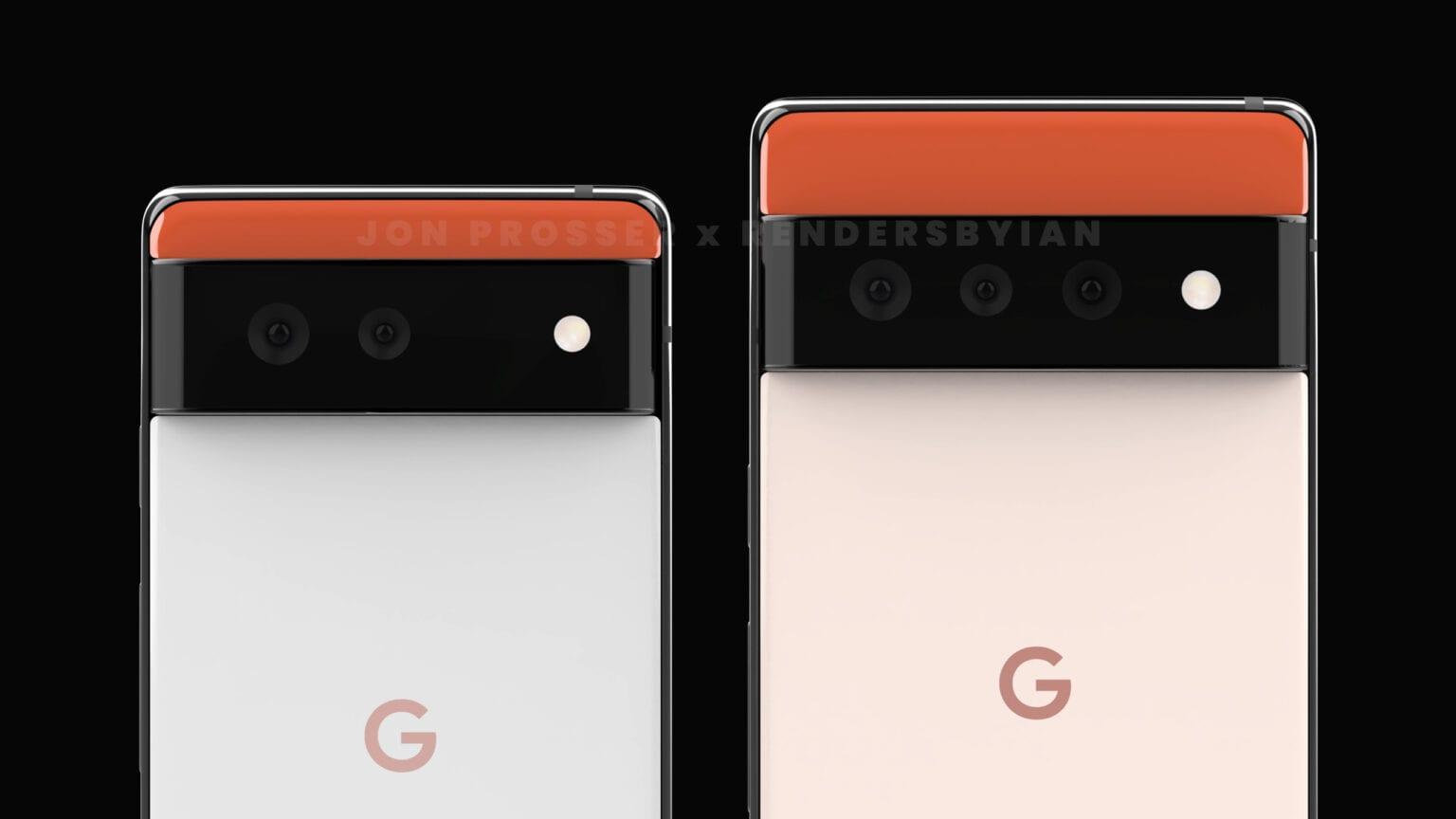 Google Pixel 6/6 Pro's Full Specs Leak Out