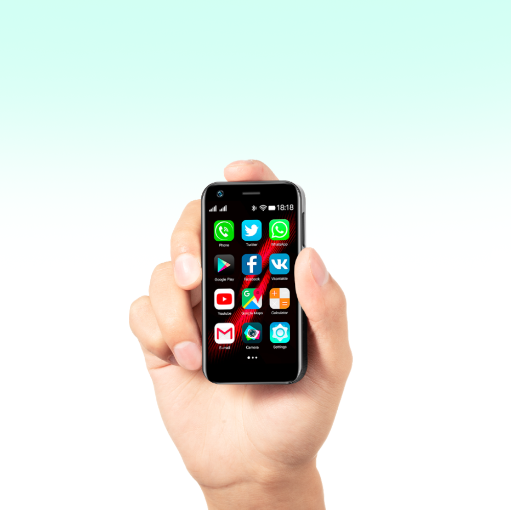 Mony Mint is The Smallest 4G Smartphone in The World