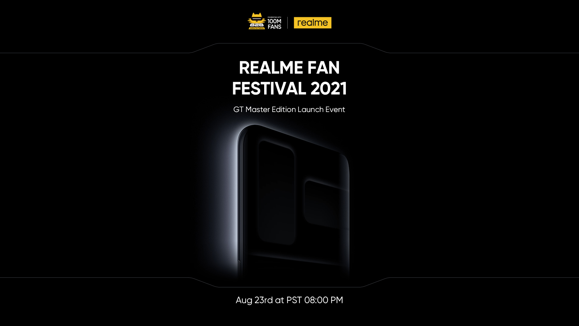 realme to Launch 100 Million Sales Milestone Product GT Master Edition Series and Other Product Lines on August 23