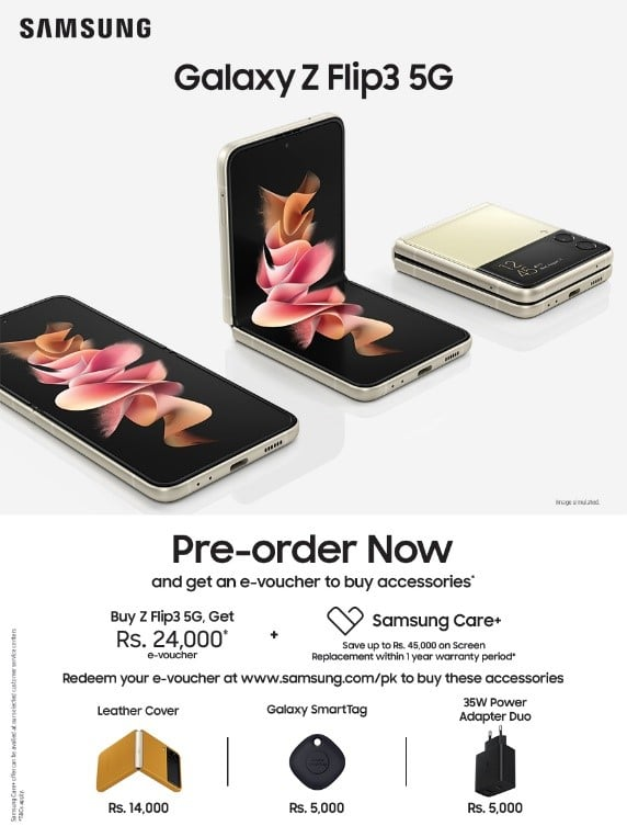 Samsung Galaxy Z Fold3 and Galaxy Z Flip3 are Officially Available for Pre-order in Pakistan