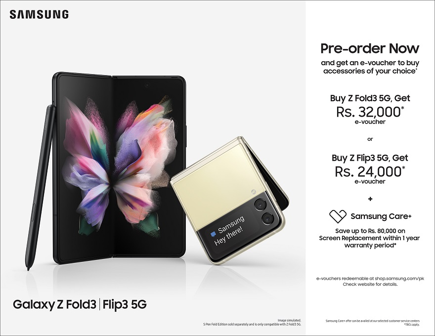 The Next Chapter in Mobile Innovation: Unfold Your World with Galaxy Z Fold3 5G and Galaxy Z Flip3 5G