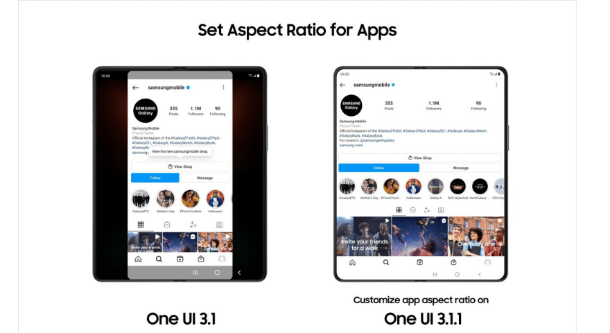 Samsung's One UI 3.1.1 Is Bringing Next-Level Foldable Experiences to Galaxy Z Series Users