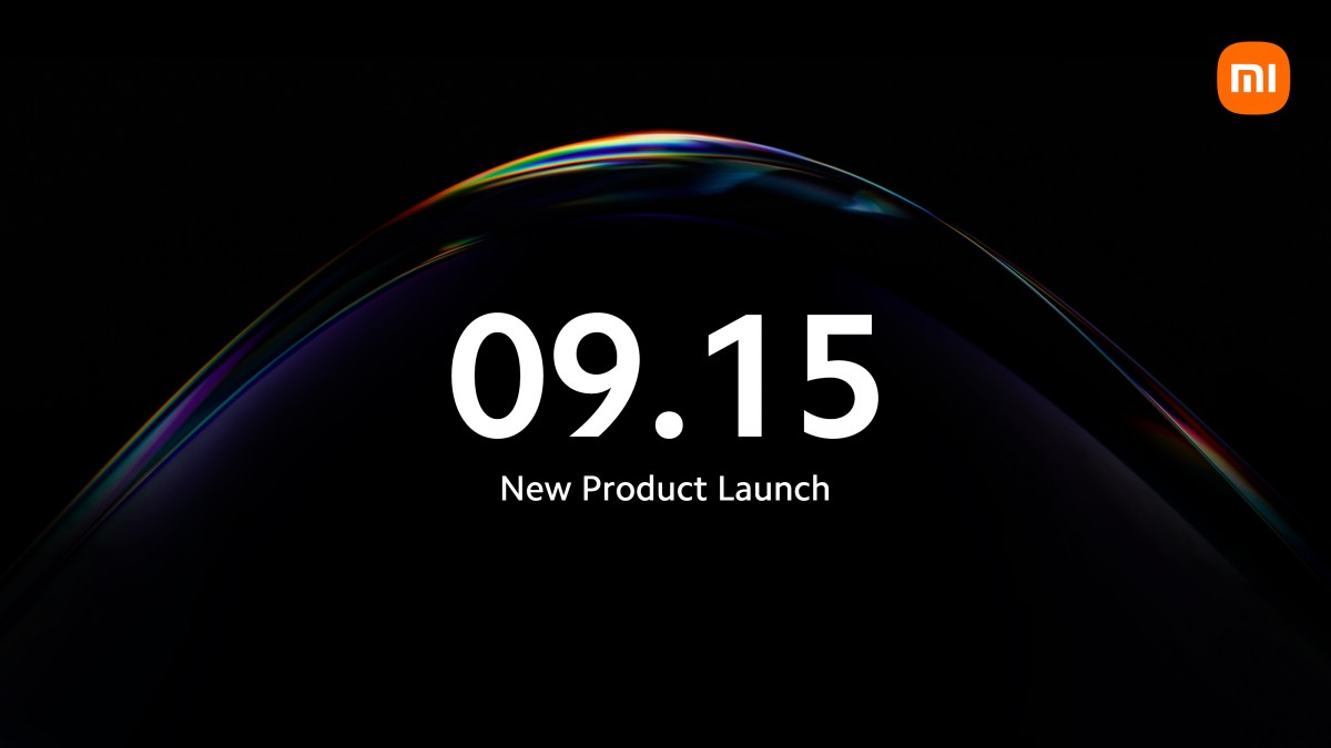 Xiaomi Teases a Product Launch for September 15