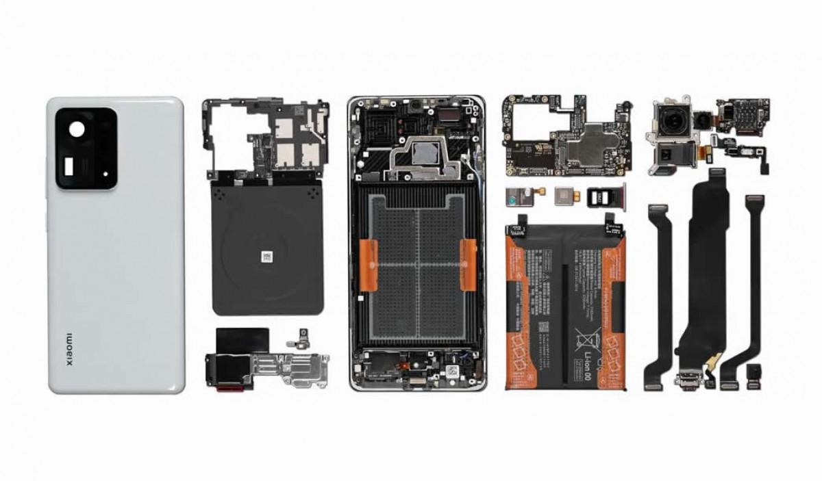 Xiaomi Mi Mix 4 Teardown Shows How the Under Screen Camera Works