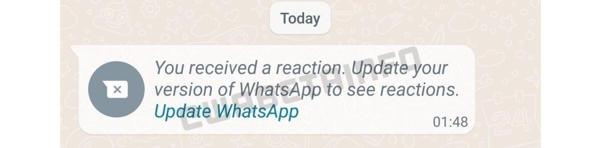 WhatsApp to Get Message Reactions Soon