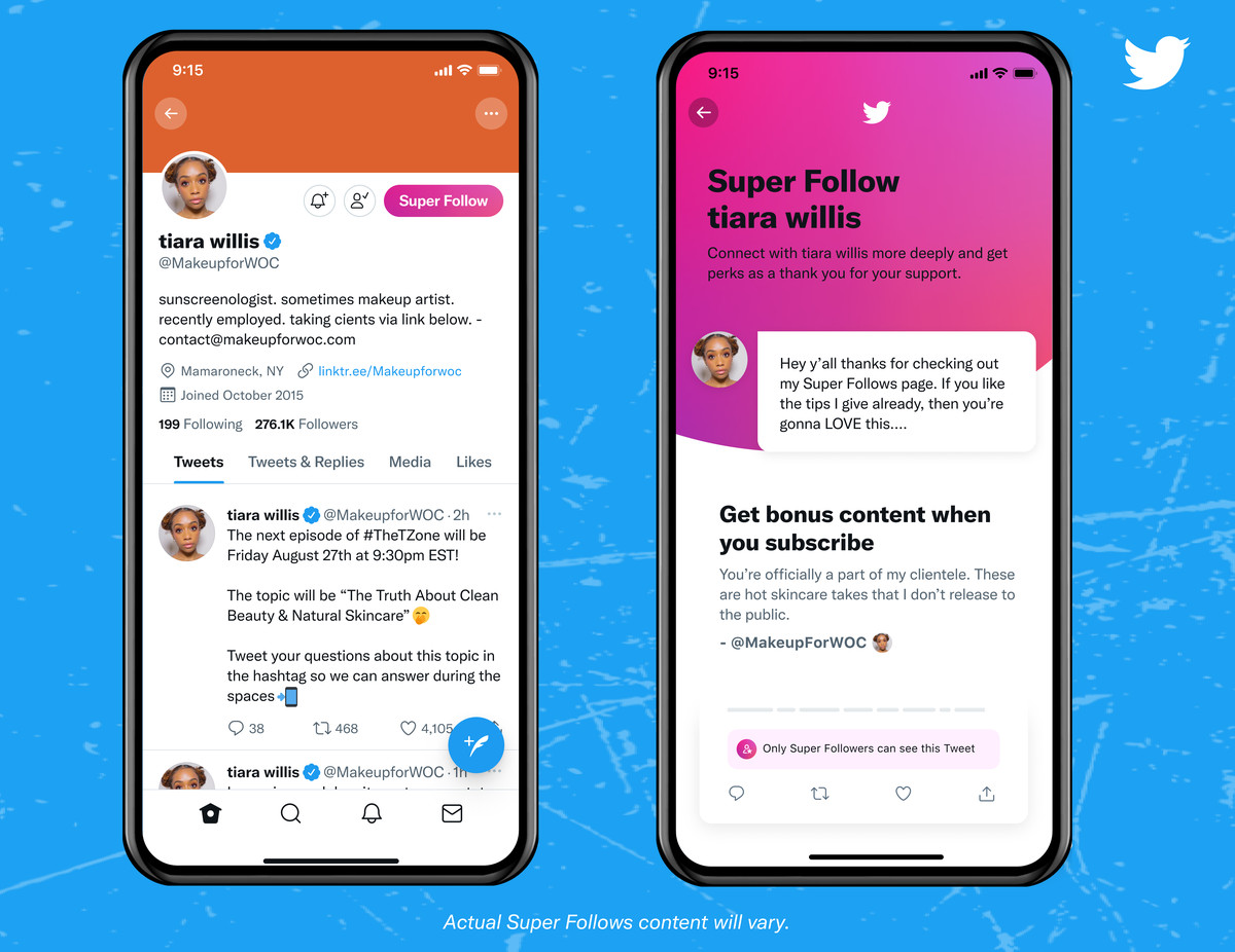 Twitter Launches Super Follows for Exclusive Subscribers