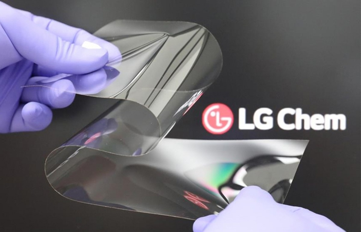 LG Unveils a Flexible Display as Hard as Glass With No Creases
