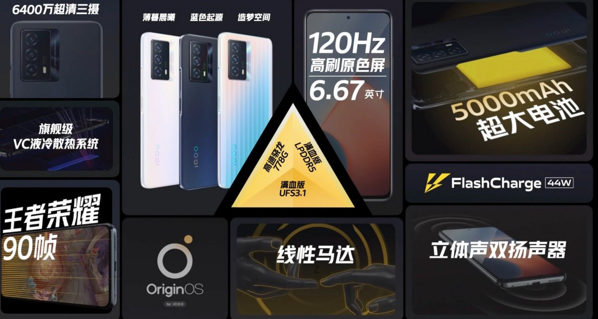 IQOO Z5 Unveiled With 120Hz Refresh Rate and 44W Fast Charging