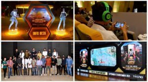 TECNO entertaining fans with thrilling challenges and PUBGM Campus Activities