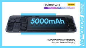 Another C-Series Powerhouse Set to Enter the Market realme C21Y – Truly Reliable Performance You Can Depend On